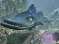 Cartoon Barracuda Fish RIGGED