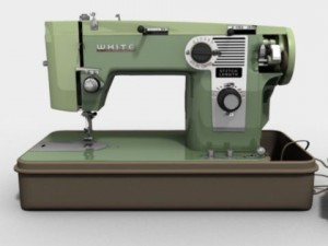 White Sewing Machine Model 530
