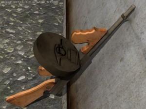 Mobster Tommy Gun