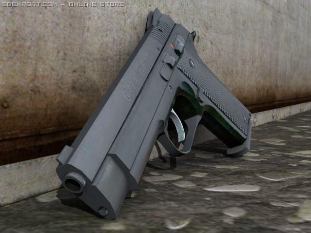 CZ 40B 3D Model