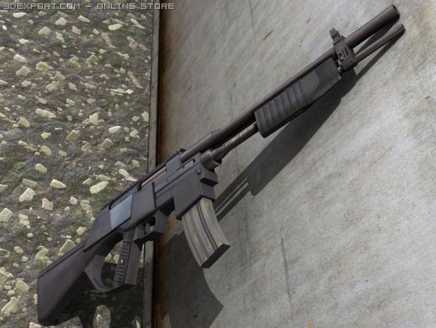 Crossfire MK1 3D Model