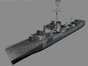 HMS Onslow battleship
