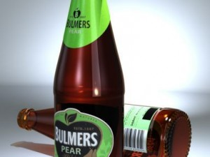 Bulmers Pear Cider Bottle