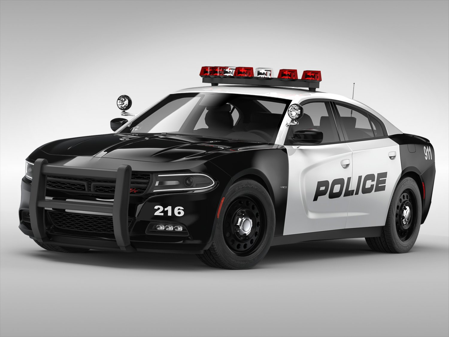 Dodge Charger Police 2015 3d Model In Sedan 3dexport