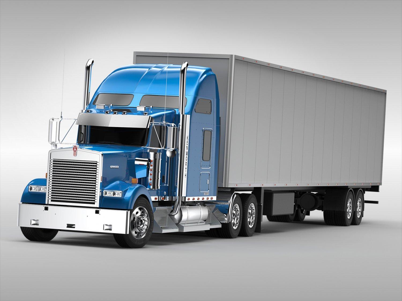 Kenworth W900 3D Model in Truck 3DExport