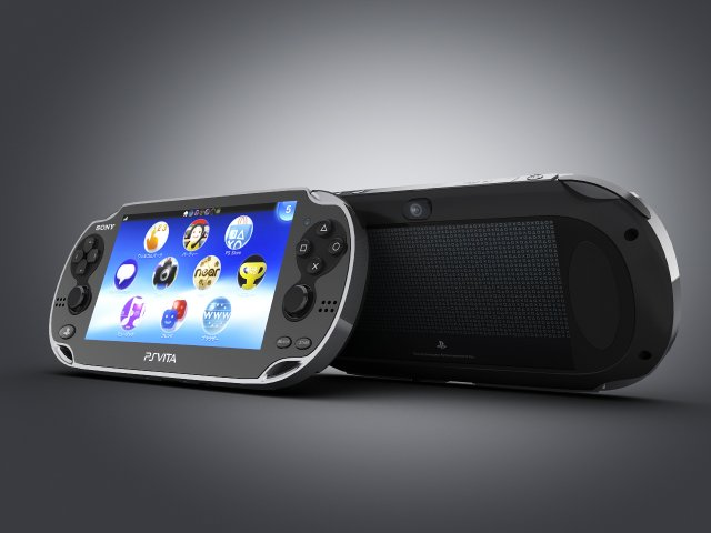 PS Vita 3D Model