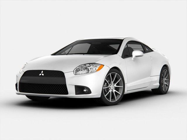 Mitsubishi Eclipse GT 2012 3D Model in Sport Cars 3DExport