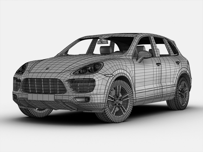 Porsche Cayenne Model Model