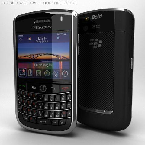 BlackBerry Tour 9630 3D Model