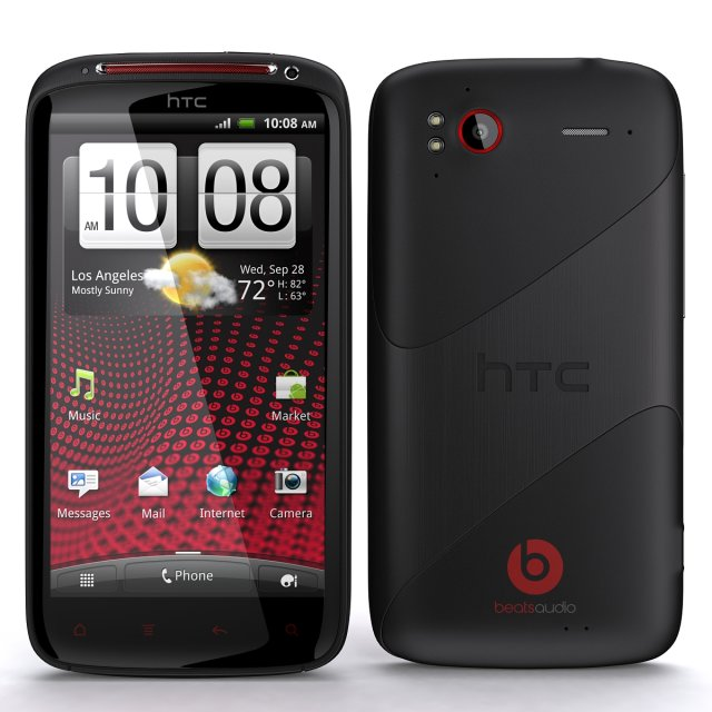 HTC Sensation XE 3D Model