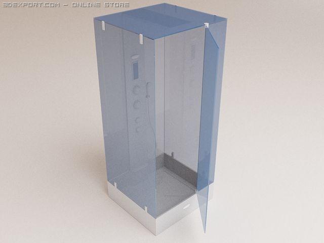 Shower cubicle Dlin 3D Model