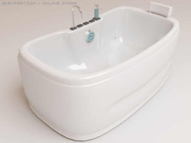 Bathtub Kalvin 3D Model