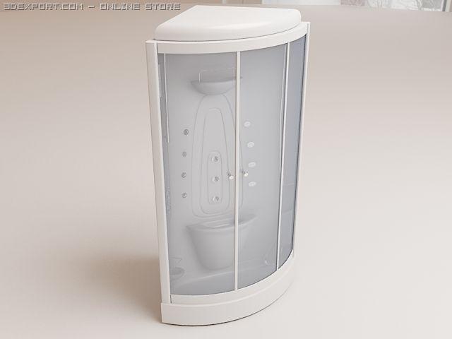 Shower cabin Doriff Gelios 3D Model