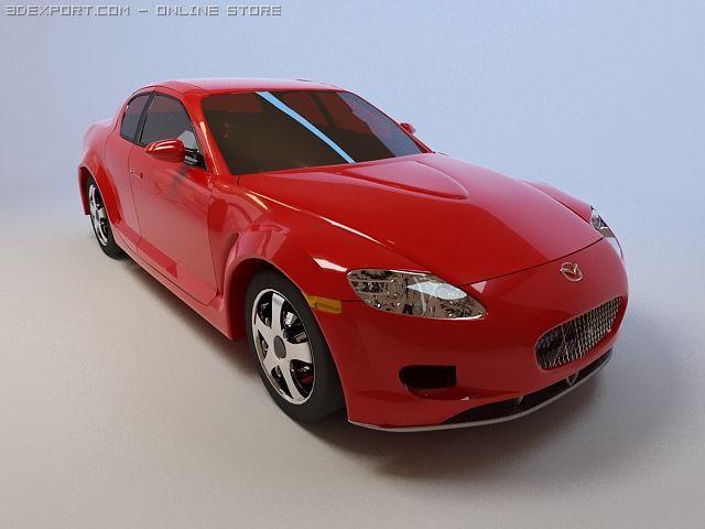 Mazda RX8 3D Model