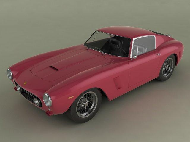 Ferrari 250 GT SWB Berlinetta 3D Model