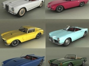 Italian Classic Cars Collection pt1