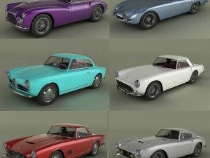 Italian Classic Cars Collection pt2