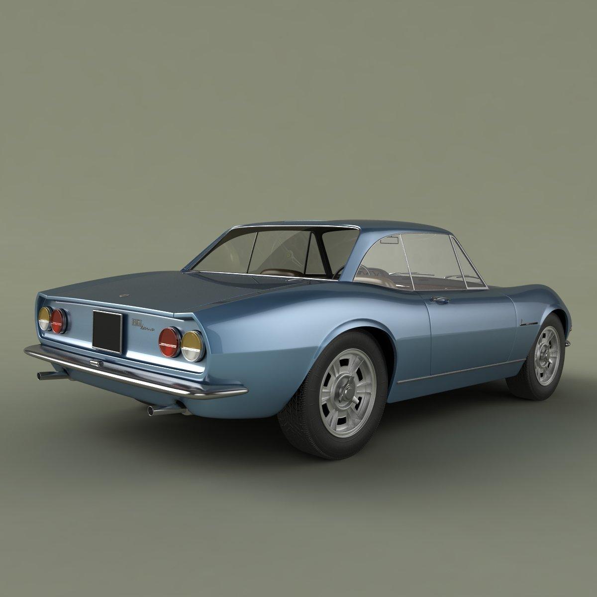 Fiat Dino Coupe Speciale Prototipo 3d Model In Classic Cars 3dexport