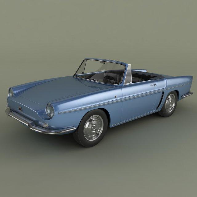 Renault Caravelle  Floride 1961 3D Model