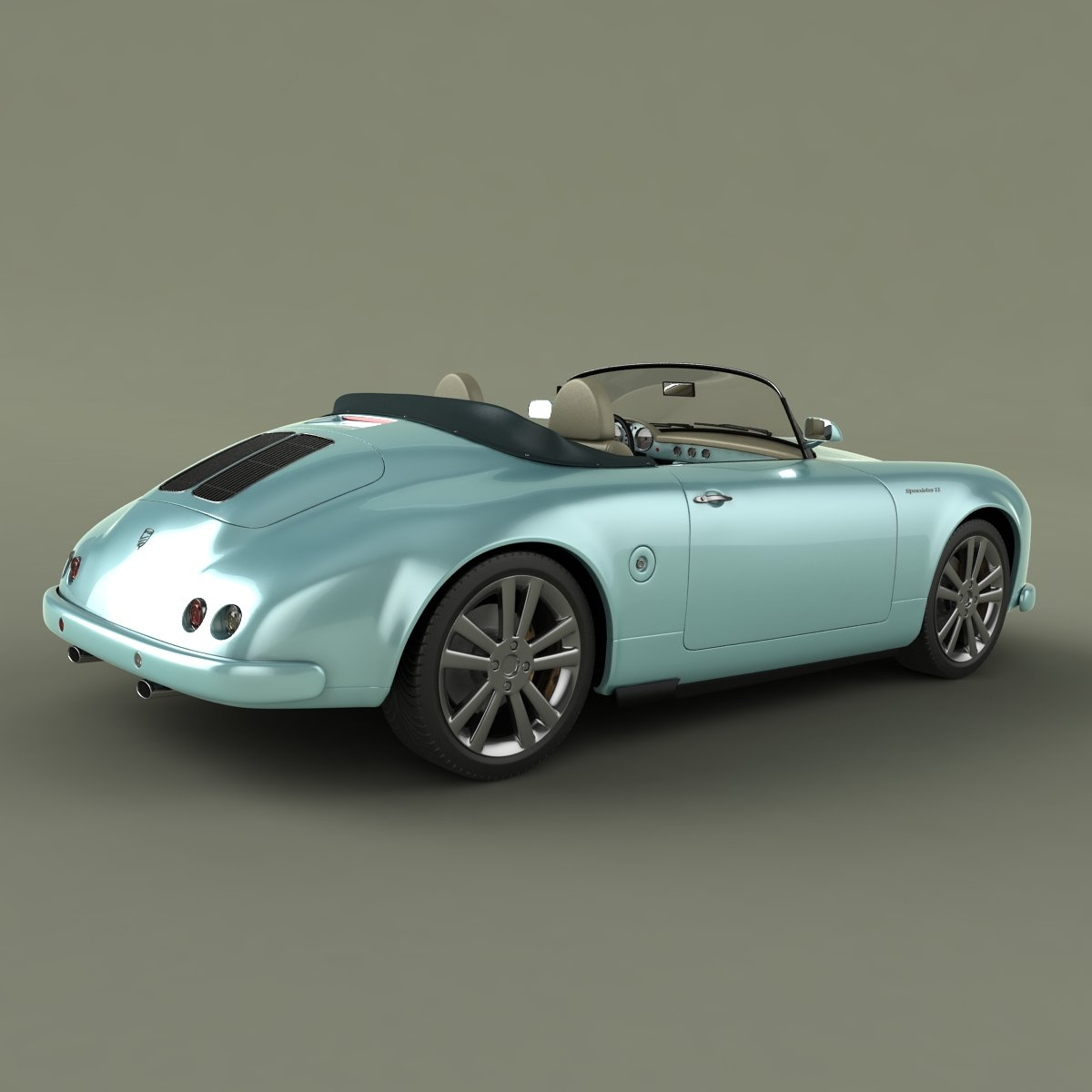 Neo Classic Cars Model In Sport