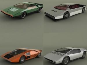 Classic Concept Cars