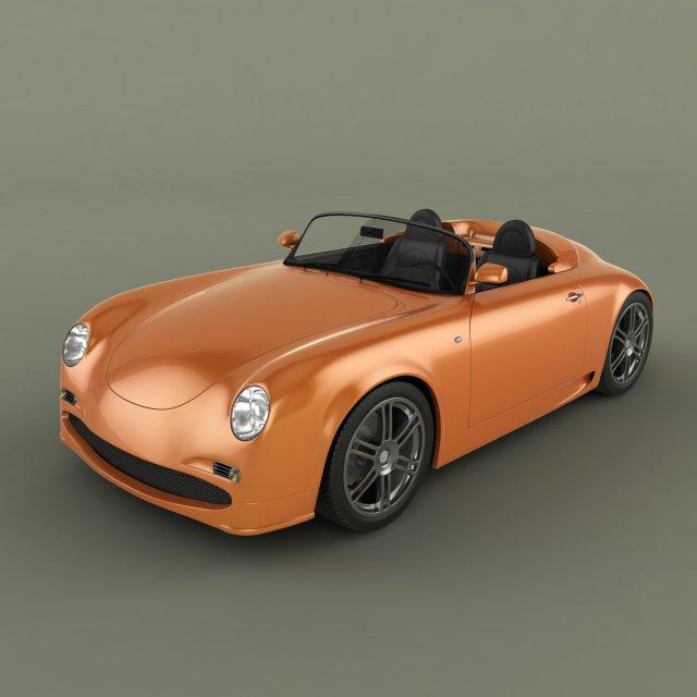PGO Speedster RSR 2003 3D Model
