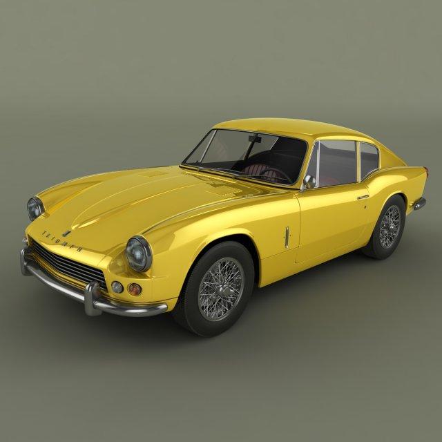 Triumph GT6 Mk 1 3D Model