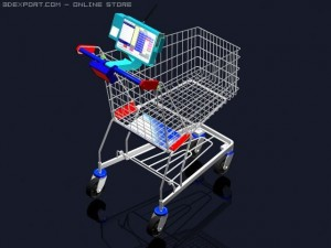 Computerized Shhoping cart