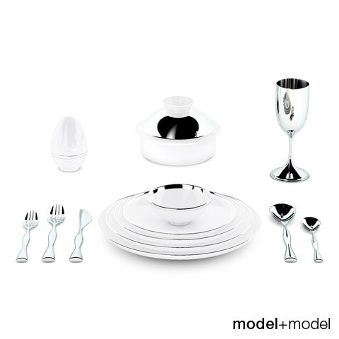 Dinnerware Sieger My china Treasure 3D Model
