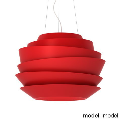 Foscarini Le Soleil suspension lamp 3D Model in Miscellaneous 3DExport