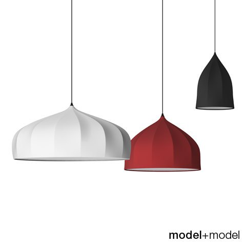 Moooi Dome suspension lamps 3D Model