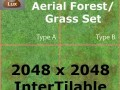 Set of 4 Intertileable Aerial Forests