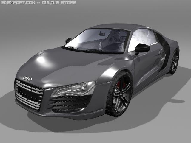 Audi R8 accurate model 3D Model