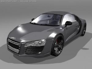 Audi R8 accurate model