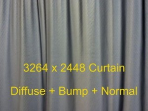 Curtain High Resolution Diffuse  Bump  Normal