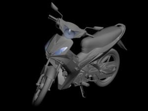 Yamaha Exciter 3D model