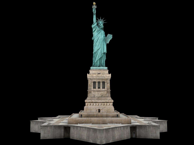 statue of liberty 3d model in miscellaneous 3dexport