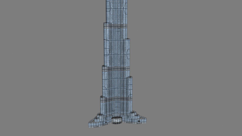 Burj khalifa 3d model free download stl obj skp yobi3d.