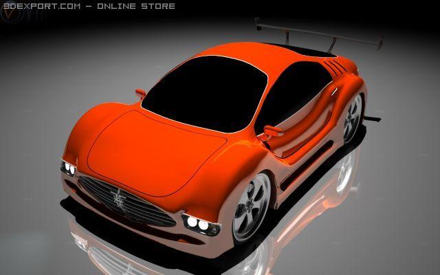 Z1car 3D Model