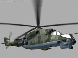 Mil Mi24 P Hind Soviet Helicopter Gunship Game