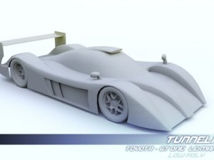 Low Poly Toyota GT One