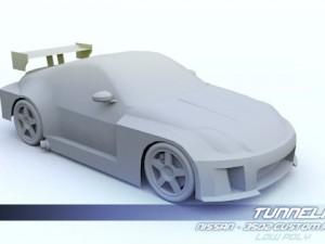 Low Poly Nissan 350Z Custom