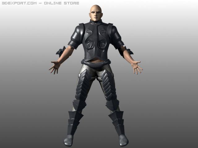 Blend The Godslayer 3D Model