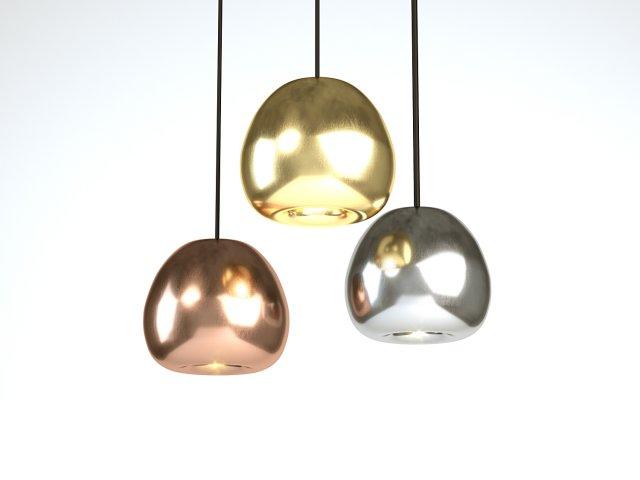 Tom Dixon Void Mini Copper Pendant 3D Model