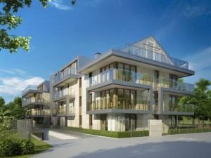 Contemporary Multi Unit Residential Building