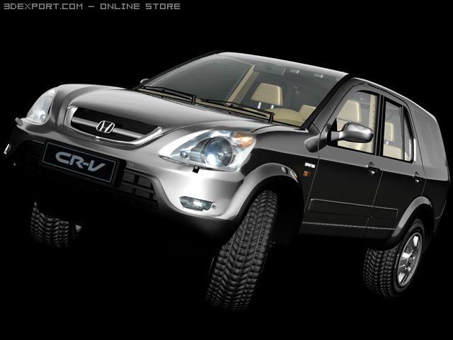 Honda CRV 3D Model