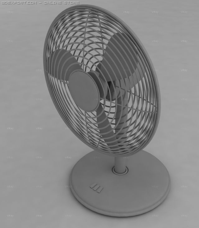 Oscillating Fan 3D Model