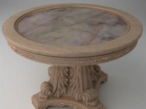 Elegant Ornate Round table