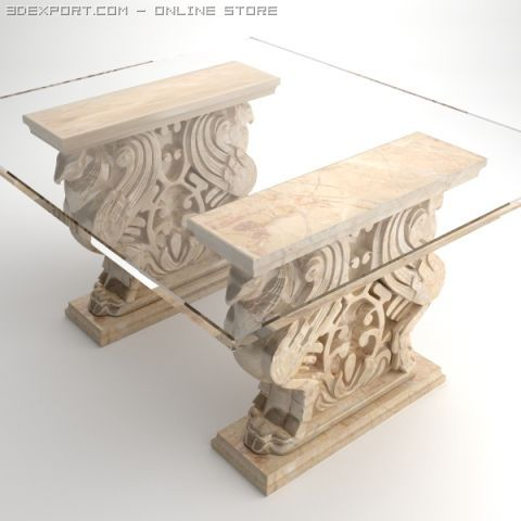 Gryphon Table 3D Model