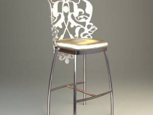 Ornate Bar Stool